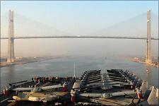 Poster, Many Sizes; Uss Bataan With V-22 Osprey , Friendship Bridge, Suez Canal