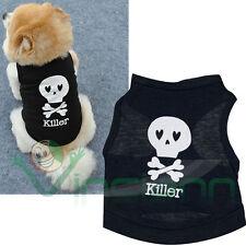 Maglia maglietta Killer Style Dog abbigliamento vestito t shirts cane cucciolo