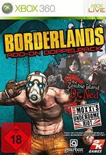 Borderlands: Add-On Doppelpack (Microsoft Xbox 360, 2010, DVD-Box)
