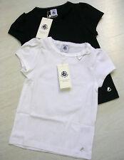 T-Shirt, kurzarm, weiß oder marine, Bassic von Petit Bateau. NEU!!!