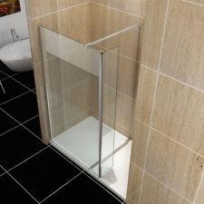 Walk In Shower Enclosure Glass Screen Wet Room Flipper Panel 8mm EASY CLEAN