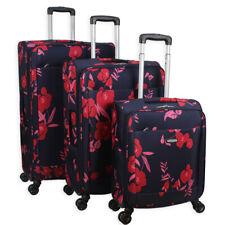 a72b42d0b 4 Wheeled Lightweight Luggage Set Suitcase Travel Bag Trolley Case Spinner  Wheel