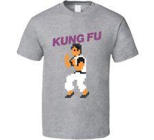 Kung Fu Nes Retro Video Game  T Shirt