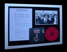 THE BYRDS Eight Miles High LTD Nod MUSIC FRAMED DISPLAY