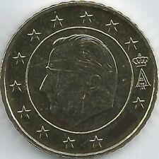BELGIQUE 50 CENT pièce de monnaie (1999 - 2007), non mis en circulation / pas