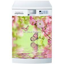 Stickers lave vaisselle ou magnet papillon 5509