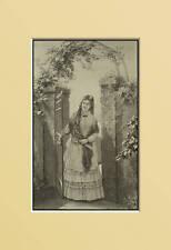 1877:LADY MILANESE_MILANO=Dalle Alpi..Zum Etna.KADEN..