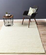 LISA GREEN RUG Pistachio 100% Wool Flatweave Carpet Floor Mat FREE DELIVERY*