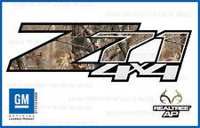 07 - 13 Chevy Silverado Z71 4x4 decals Realtree AP Camo stickers side bed HD3