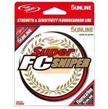 Sunline Super Fc Sniper Clear Fluorocarbon Fishing Line 200yd/165yd Spool