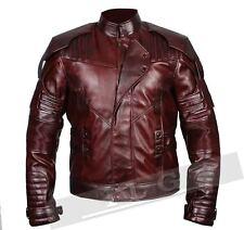 Guardians Of The Galaxy 2 Star Lord Chris Pratt Slim Fit Leather Jacket - BNWT