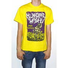 "Municipal Waste ""Massive Aggressive"" Yellow T-shirt - NEW OFFICIAL fatal feast"
