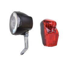 LED Beleuchtung Set batteriebetrieben Fahrradlicht 20 Lux Vorderlicht Rücklicht
