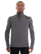 Brunotti Fleece Pullover Function Top Shirt Grey Flexed Insulating