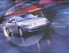 2000 Oldsmobile Alero 36-page Original Car Dealer Sales Brochure Catalog