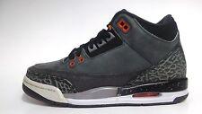 "NEW Youth Air Jordan III ""Fear Pack"" 3 Retro GS 626968-040 Orange Black Night"