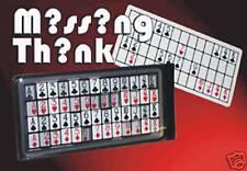 Missing Think - Zaubertrick von Dan Harlan - ganz einfacher Selbstgänger (20018)