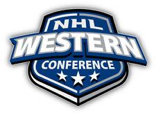 NHL Western Conference Logo Car Bumper Sticker Decal - 3'', 5'' or 6''