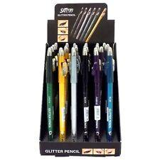 Saffron GLITTER Eyeliner Pencil Eye Liner with Sharpener