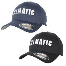 Illmatic Inface Flexfit Cap navy black Logo Stick Stretchable Baseball Kappe Hat