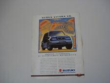 advertising Pubblicità 1995 SUZUKI VITARA V6