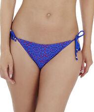 LEPEL Swim LE147572 giornate estive con cordino laterale Slip Bikini in Blu/Rosso