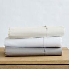Premium Smooth Finely Spun Cotton Sateen Sheet Sets | 500TC | Machine washable