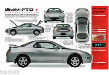 1995 / 1996 / 1997 MITSUBISHI FTO IMP Brochure, GPX