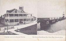 Crescent, Conn - Crescent Park House and Pier