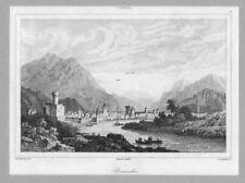 TYROL. Brandis. Panorama. St. v. Lemaitre um 1838