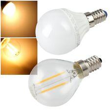 LED Leuchtmittel E14 230V EKK A+ Tropfenform Glüh-Birne Tropfen-Lampe Filament