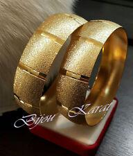 Set de bijoux trébizonde Bracelet Large Bombey 24 24 carats or plaqué doré LS