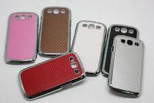 Plástico Duro Estuche Cubierta de protección de diseño de piel de serpiente para Samsung Galaxy S3