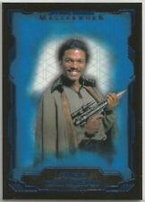 Star Wars Masterwork 2016 ~ BLUE PARALLEL BASE CARD SINGLES (complete your set!)