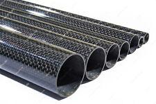 1m Carbon Rohr Glänzen rund CFK/GFK Kohlefaser/Glasfaser 3K tube glossy 1000mm