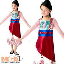 Mulan Gem Princess Girls Fancy Dress Disney World Book Day Kids Childs Costume