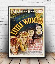 Little Women , Vintage Katharine Hepburn Movie poster reproduction.