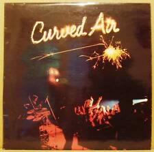 LP Curved Air Live Deram UK 1975