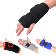 New Bandage Orthopedic Hand Brace Wrist Support Finger Splint Carpal Tunnel K9V1