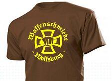 Tee-shirt ARMES forgé WOLFSBURG avec de fer croix IRON CROSS taille 3-5xl