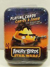 Cartamundi Star Wars Angry Birds Playing Cards in Tin-Han Solo