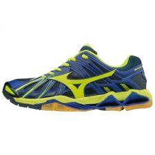 Mizuno Volleyball shoes Wave Tornado X2 V1GA1812 Blue × Yellow × Navy