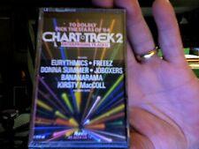 Chart Trek 2- various artists- Ronco- rare new/sealed cassette tape