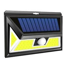 76 COB LED Solar Power PIR Motion Sensor Outdoor Garden Security Wall Light Lamp