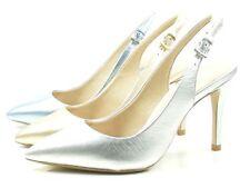 Bronx Sling Pumps Cote 75095-A Metallic High Heels Stiletto