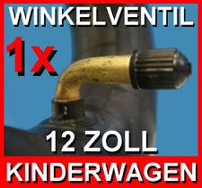 SCHLAUCH 12 1/2 x 2 1/4 Winkelventil 12.5x 2.25  Kinderwagen Reifen Buggy Roller