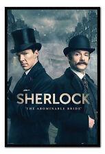 Framed Sherlock The Abominable Bride Poster New