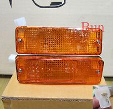 Front Bumper indicator light lamp for TOYOTA HILUX PICKUP MK2 84 85 86-88 MK 2