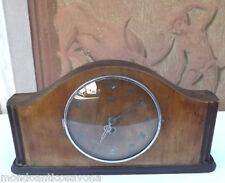 OROLOGIO da tavolo struttura in legno epoca Art Deco'