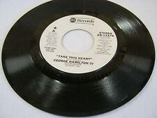 George Hamilton IV Take This Heart/Same(PROMO) 45 RPM ABC Records